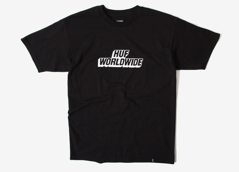 HUF Postal T Shirt - Black
