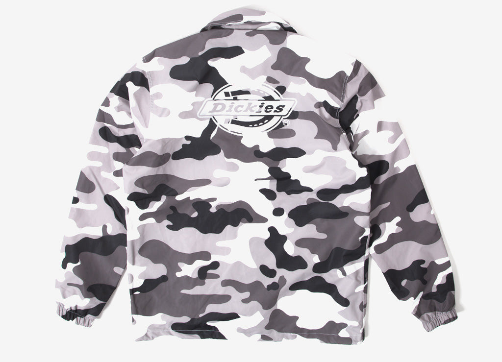 Dickies Summerfield Waterproof Coach Jacket - White Camo