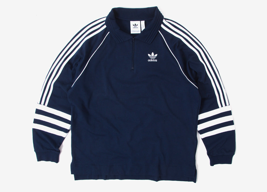 adidas Originals Auth Rugby Shirt - Navy