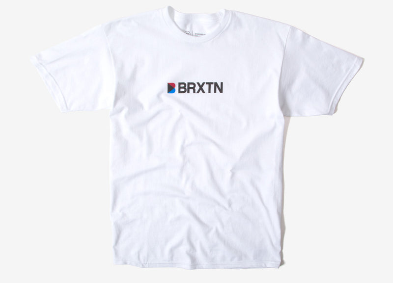 Brixton Stowell IV T Shirt - White