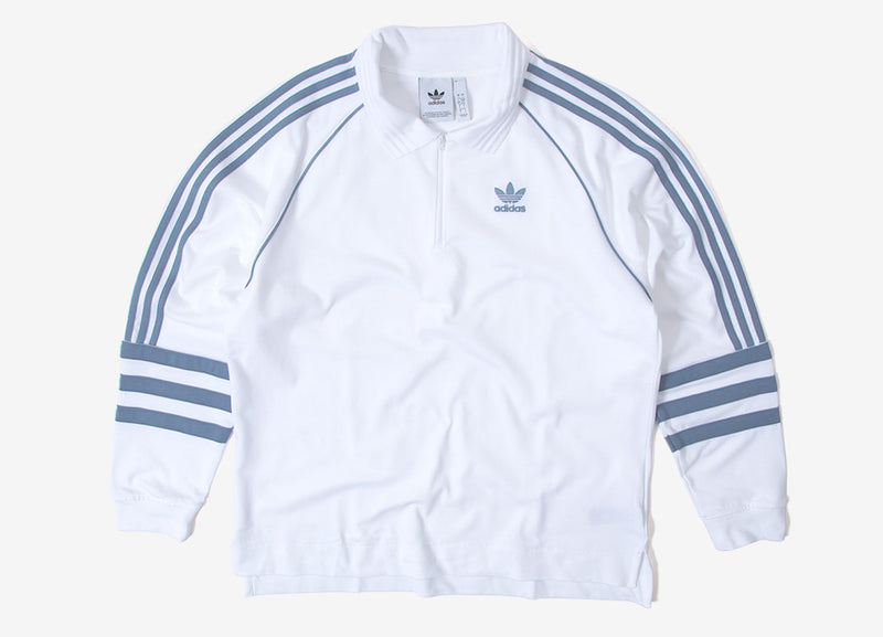 adidas Originals Auth Rugby Shirt - White