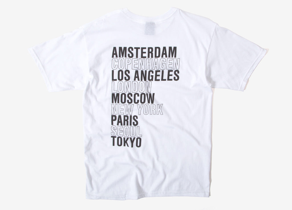 Obey Intl. Cities T Shirt - White