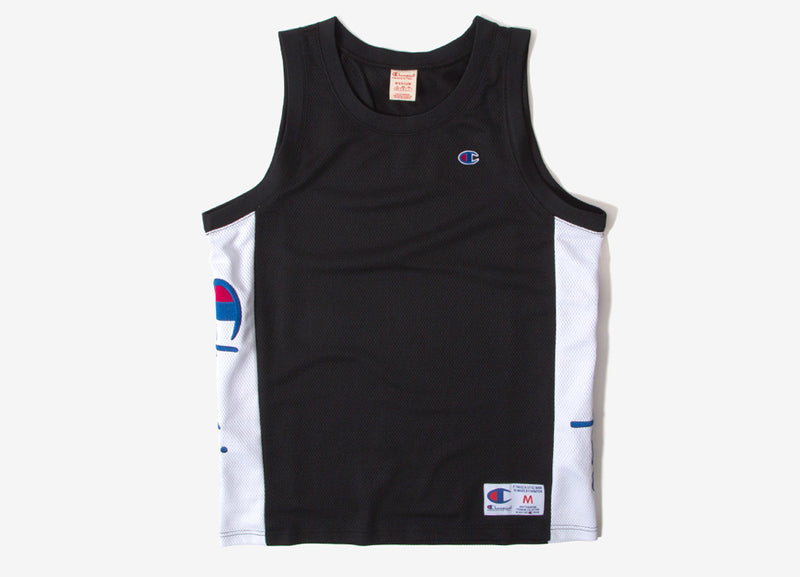 Champion Soft Technical Mesh Basketball Vest - Black