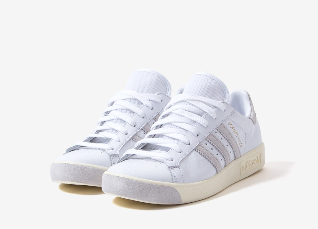 855a30eefffea1 adidas Originals Forest Hills Shoes - Ftwr White Cream White Crystal White