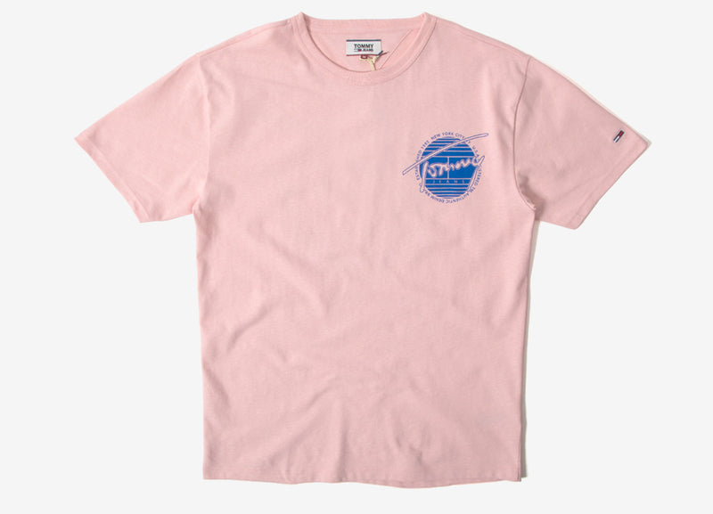 Tommy Jeans Back Graphic T Shirt - Peach