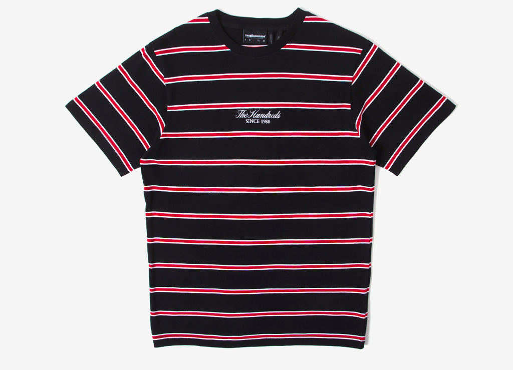 The Hundreds Mazo T Shirt - Black