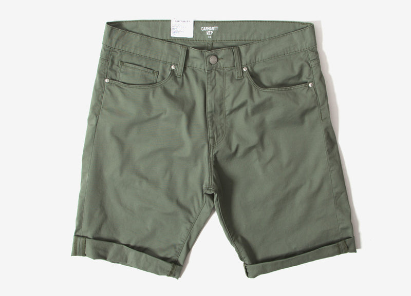 Carhartt Swell Shorts - Dollar Green Rinsed