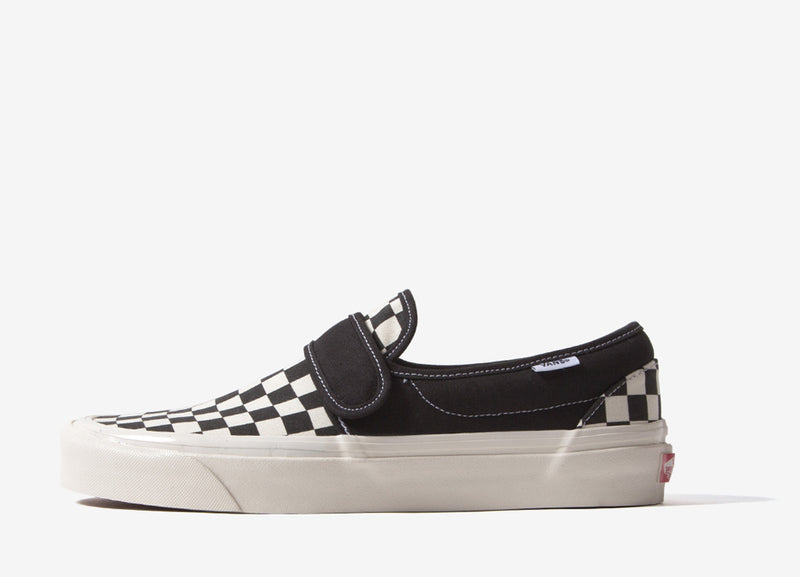 Vans Slip-On 47 V DX 'Anaheim Factory' Shoes - OG Black