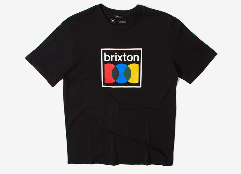 Brixton Probe T Shirt - Black