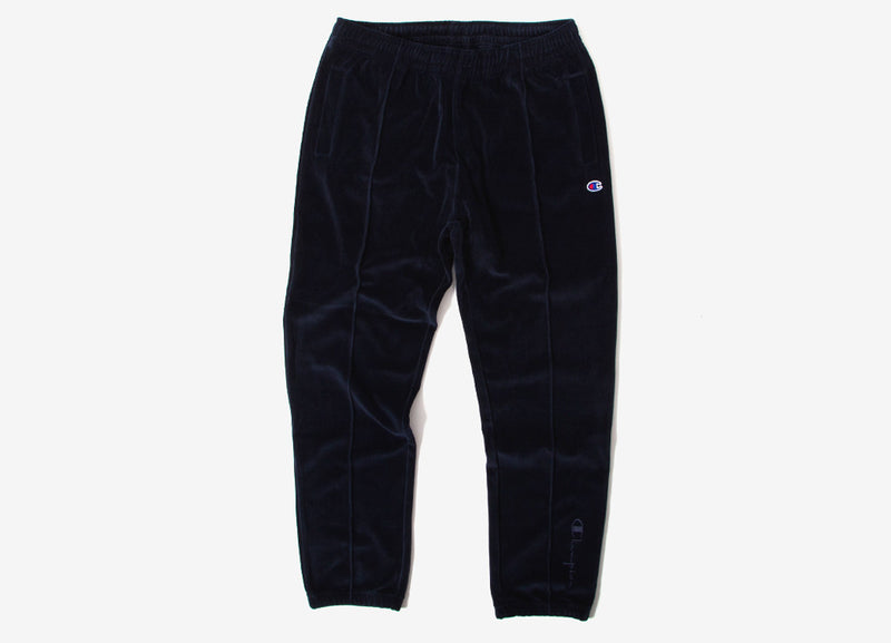 Champion Reverse Weave Straight Hem Pants - Navy