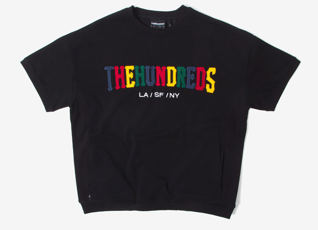 The Hundreds Varsity Crewneck Sweatshirt - Black