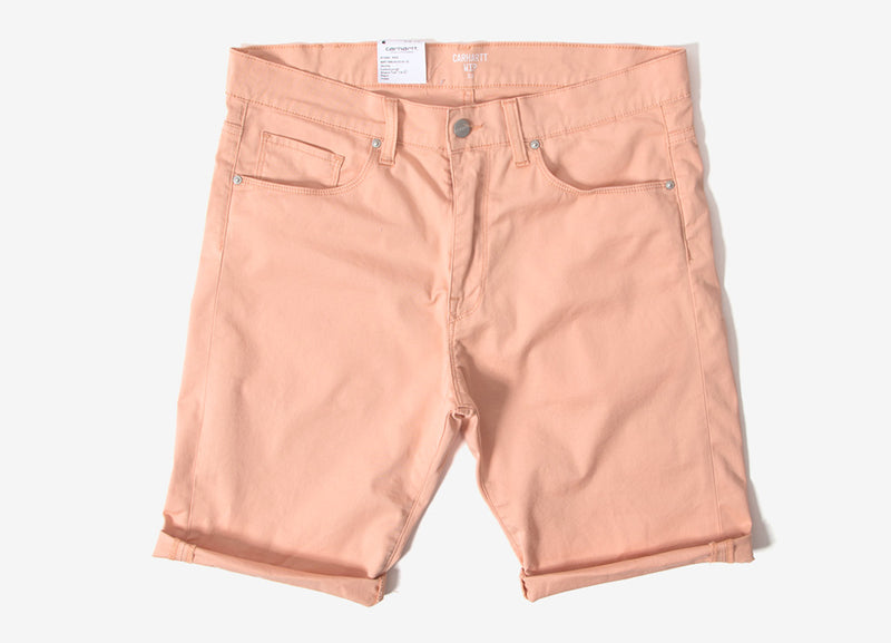 Carhartt Swell Shorts - Peach Rinsed