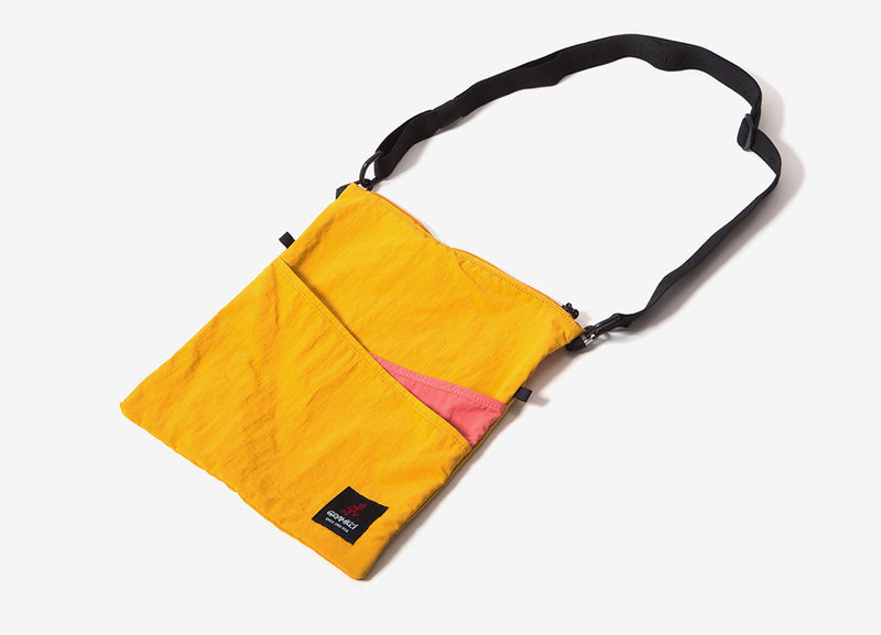 Gramicci Japan 2 Way Sacoche Bag - Mustard