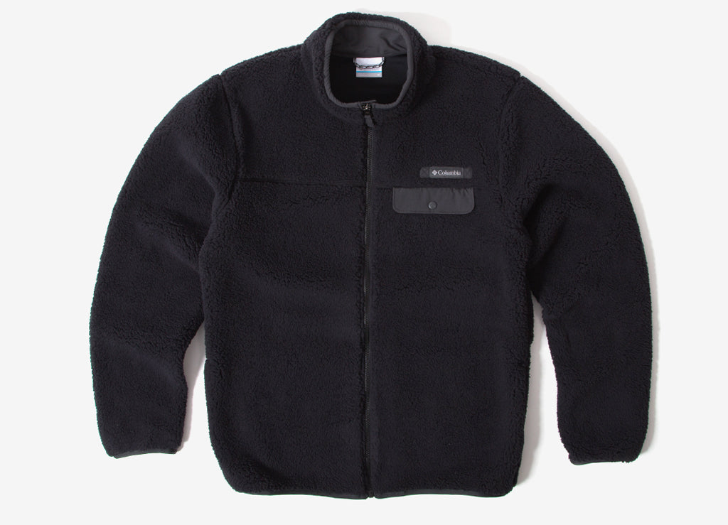 Columbia Mountain Side Heavyweight Fleece Jacket - Black