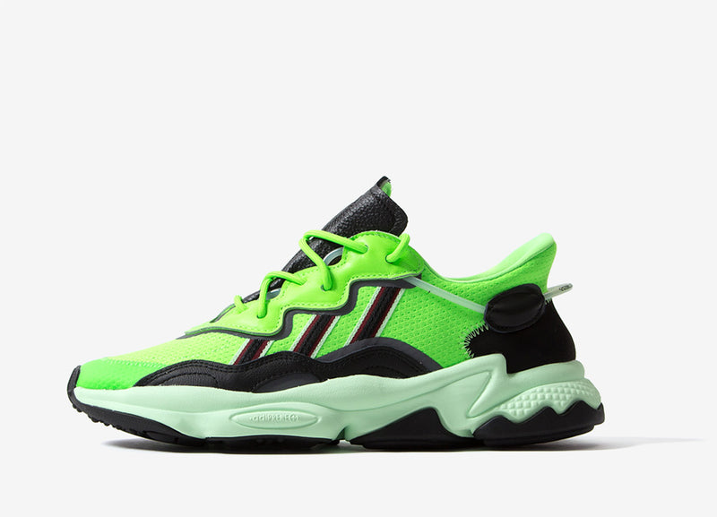 adidas Originals Ozweego - Safety Green/Black
