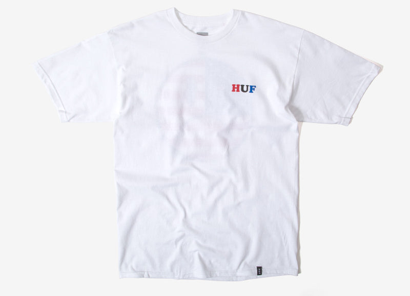 HUF Bummer USA T Shirt - White