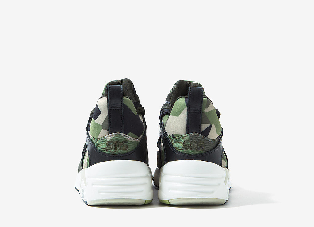 PUMA x SNS Blaze Of Glory Camo Shoes - Rosin/Whisper White