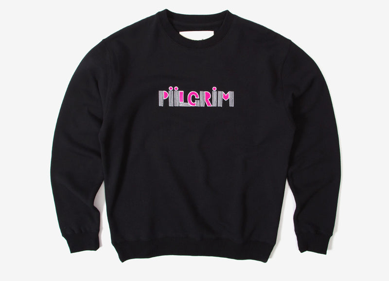 Piilgrim Saturn Sweatshirt - Black