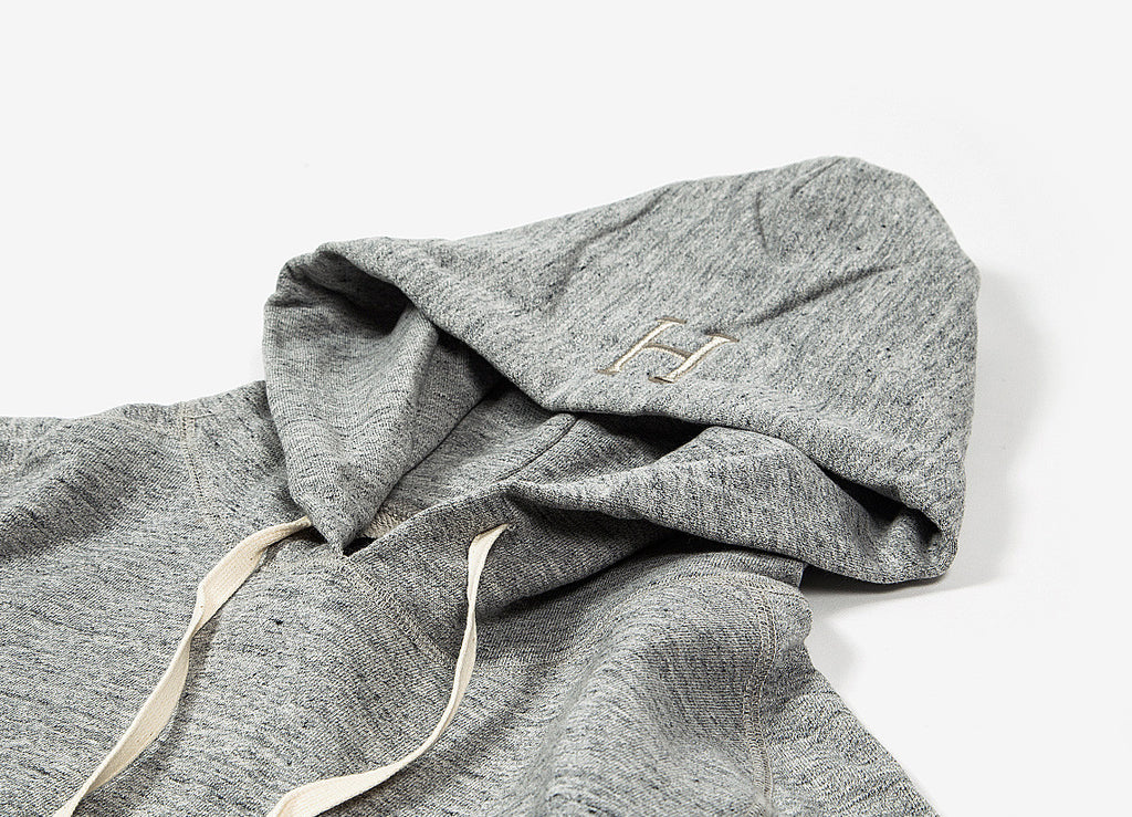 HUF Mil-Spec Pullover Hoody - Heather Grey