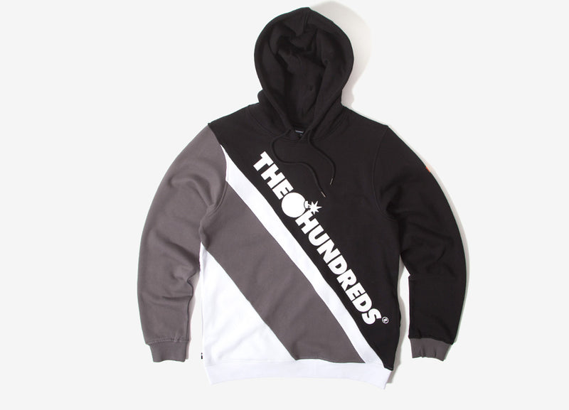 The Hundreds Slope Pullover Hoody - Black