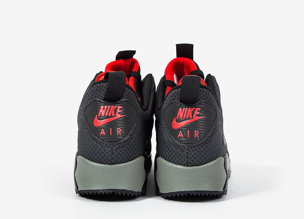 Nike Air Max 90 Mid Winter Print Shoes - Anthracite/Black