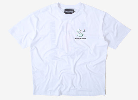 Pas de Mer Morning T Shirt - White