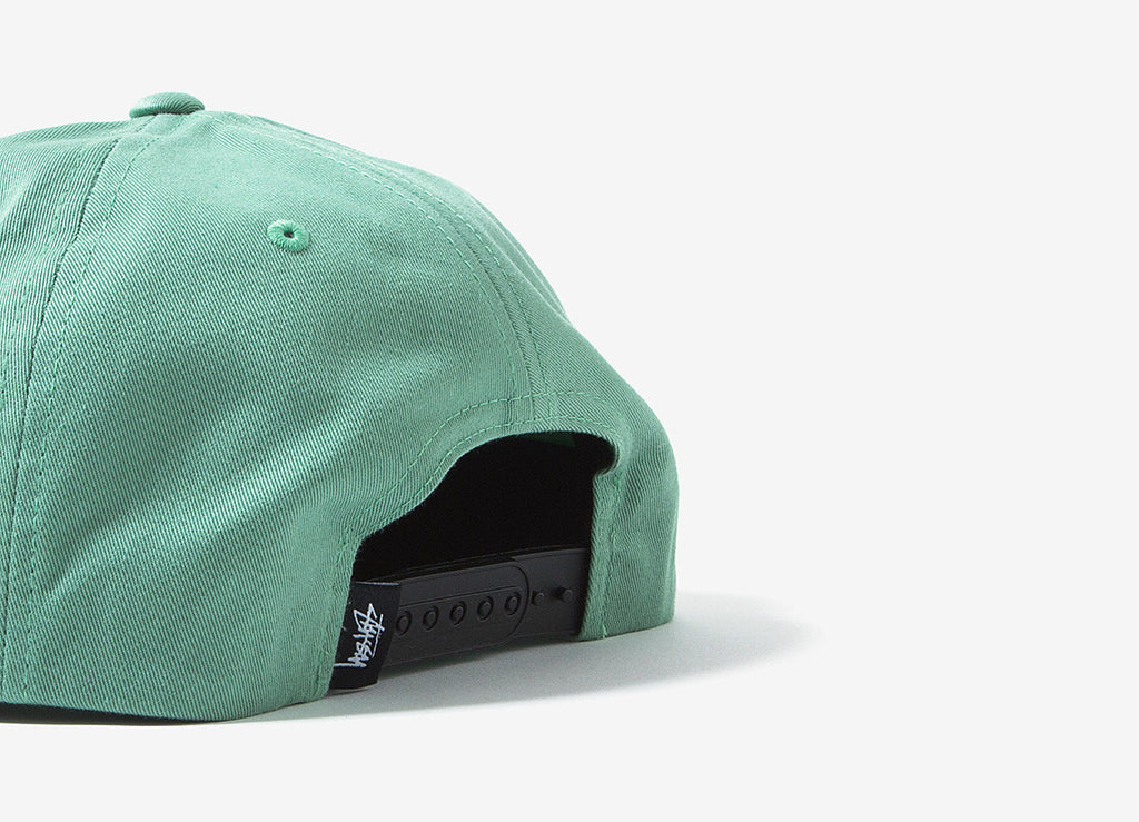 Stussy Stock Pigment Snapback Cap - Teal