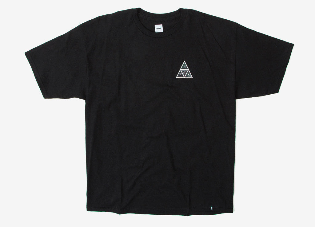 HUF Muted Military Triple Triangle T Shirt - Black