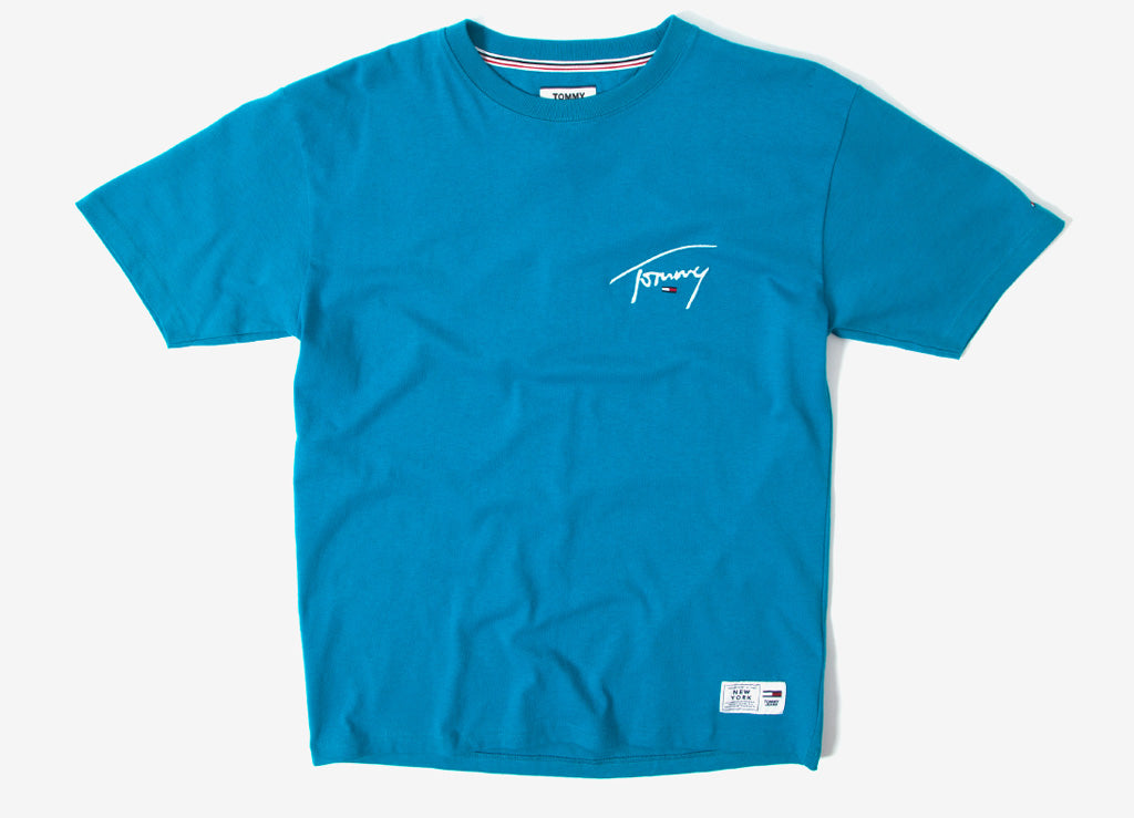 1e7b9b76 Tommy Jeans Signature T Shirt | Tommy Jeans Signature Collection ...