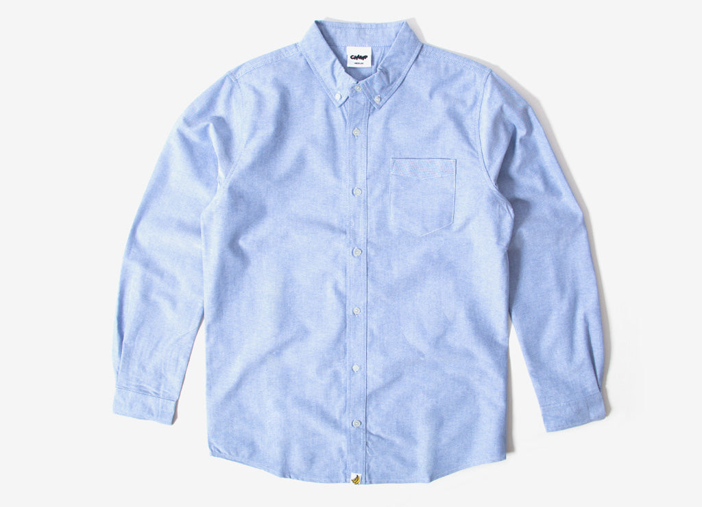 Chimp Premium Oxford Shirt - Light Blue