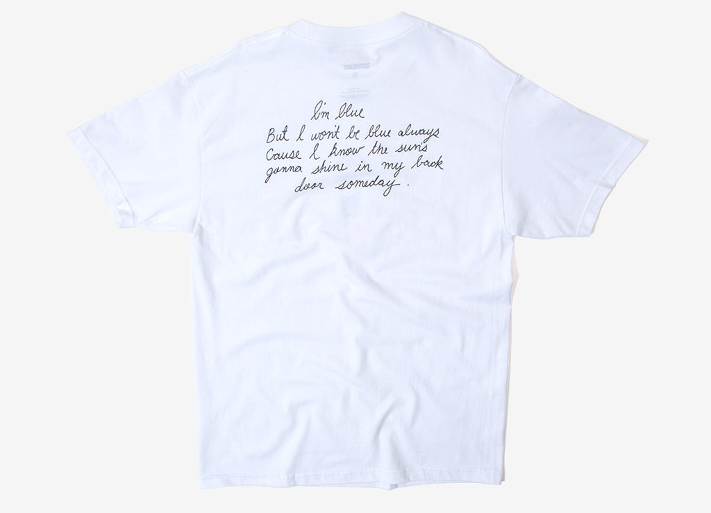 Butter Goods Trouble In Mind T-Shirt - White