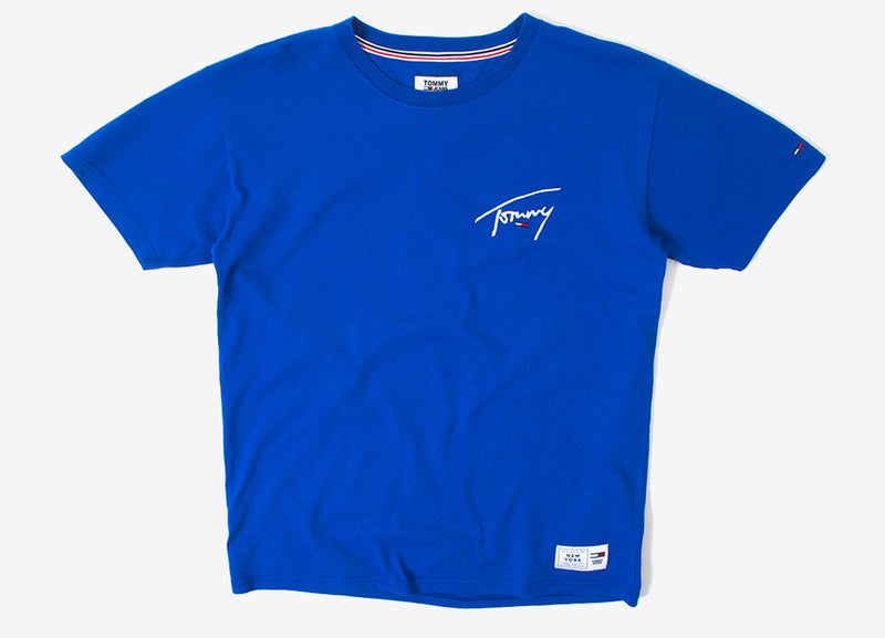 Tommy Jeans Signature T Shirt - Surf The Web