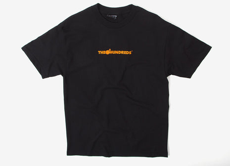 The Hundreds Bar Logo Embroidered T Shirt - Black