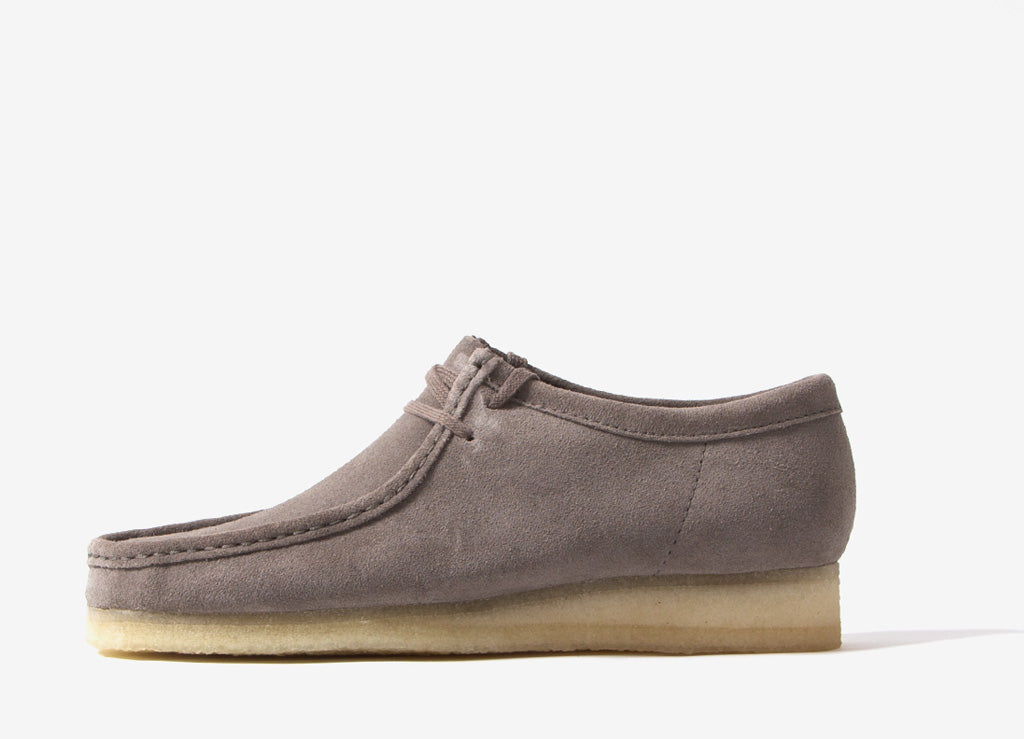 Clarks Originals Wallabee Shoes - Grey