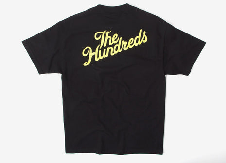 The Hundreds Crest Slant T Shirt - Black