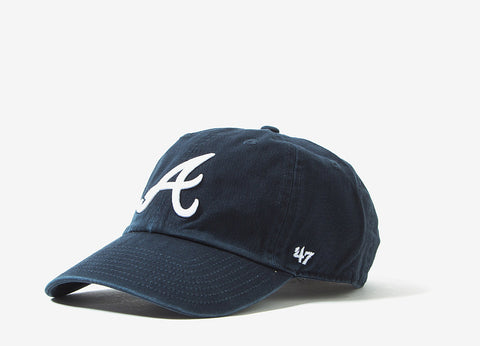 47 Brand Atlanta Braves Dad Cap - Navy