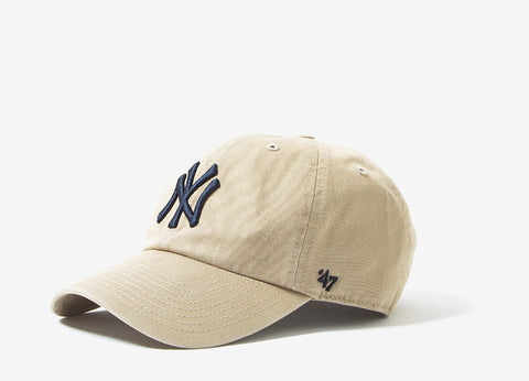 47 Brand MLB New York Yankees 6 Panel Cap - Khaki