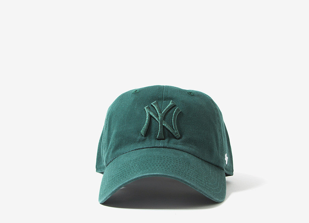 47 Brand MLB New York Yankees 6 Panel Cap - Green