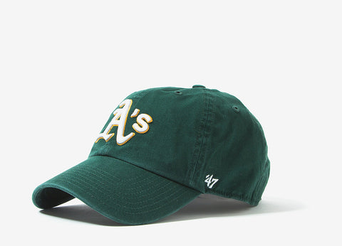 47 Brand MLB Oakland Athletics 6 Panel Cap - Green