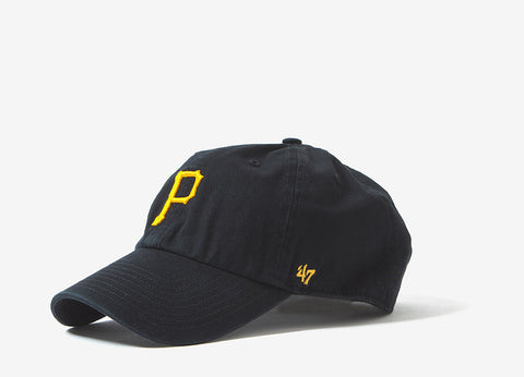 47 Brand MLB Pittsburgh Pirates 6 Panel Cap - Black