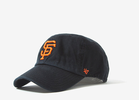 47 Brand MLB San Francisco Giants 6 Panel Cap - Black