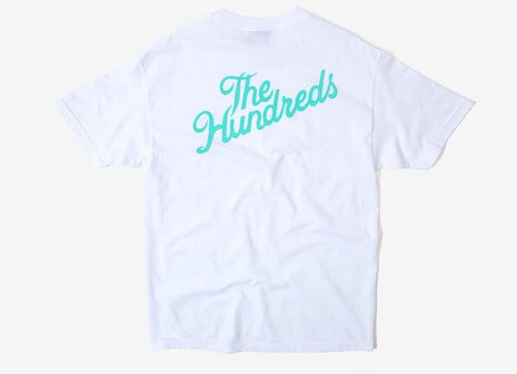 The Hundreds Crest Slant T Shirt - White