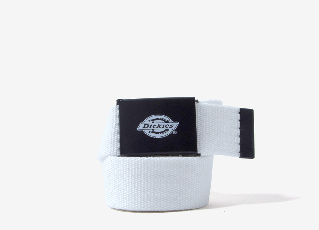 Dickies Orcutt Webbed Belt - White