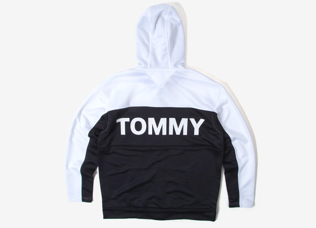 Tommy Jeans Vintage Colourblock Track Jacket - Classic White
