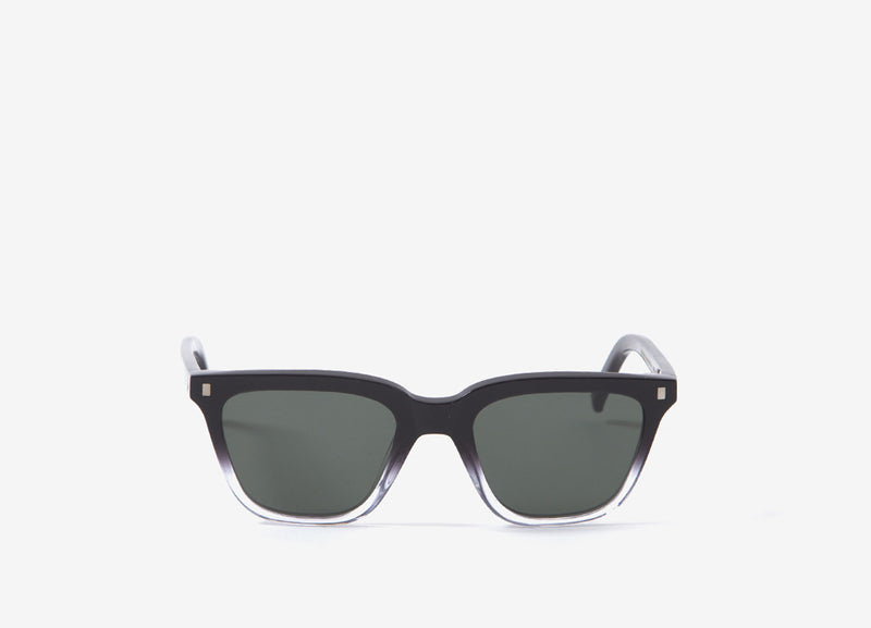 Monokel Eyewear Robotnik Sunglasses - Black/Crystal/Eco