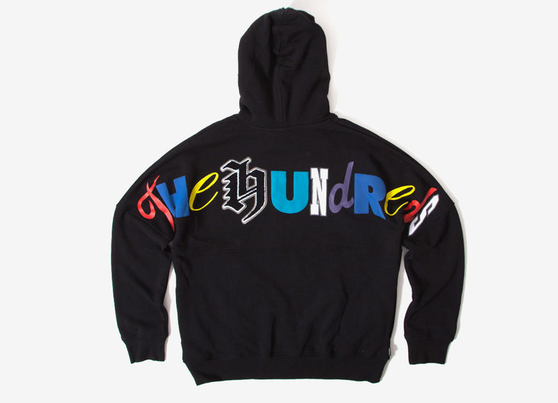 The Hundreds Stalker Pullover Hoody - Black