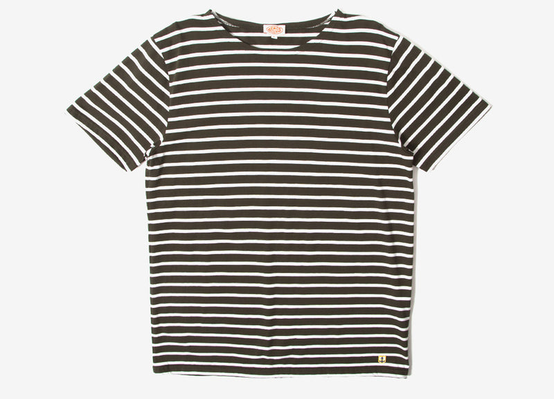 Armor Lux Sailor T Shirt - Aquilla/Milk