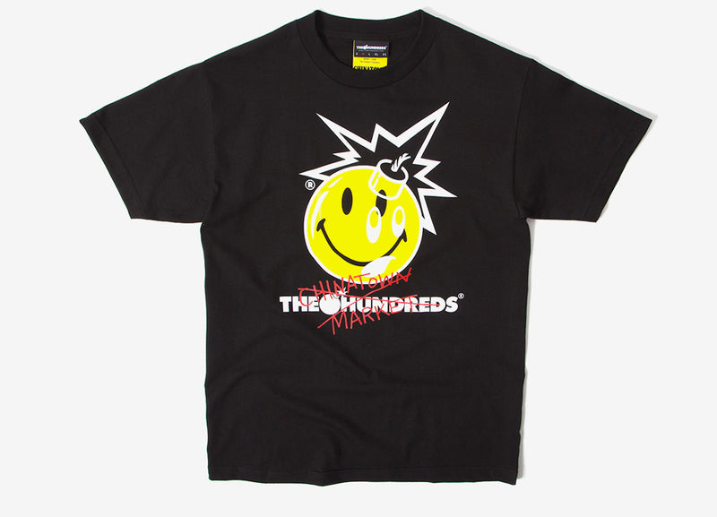 The Hundreds x Chinatown Market Crossout Adam T-Shirt - Black