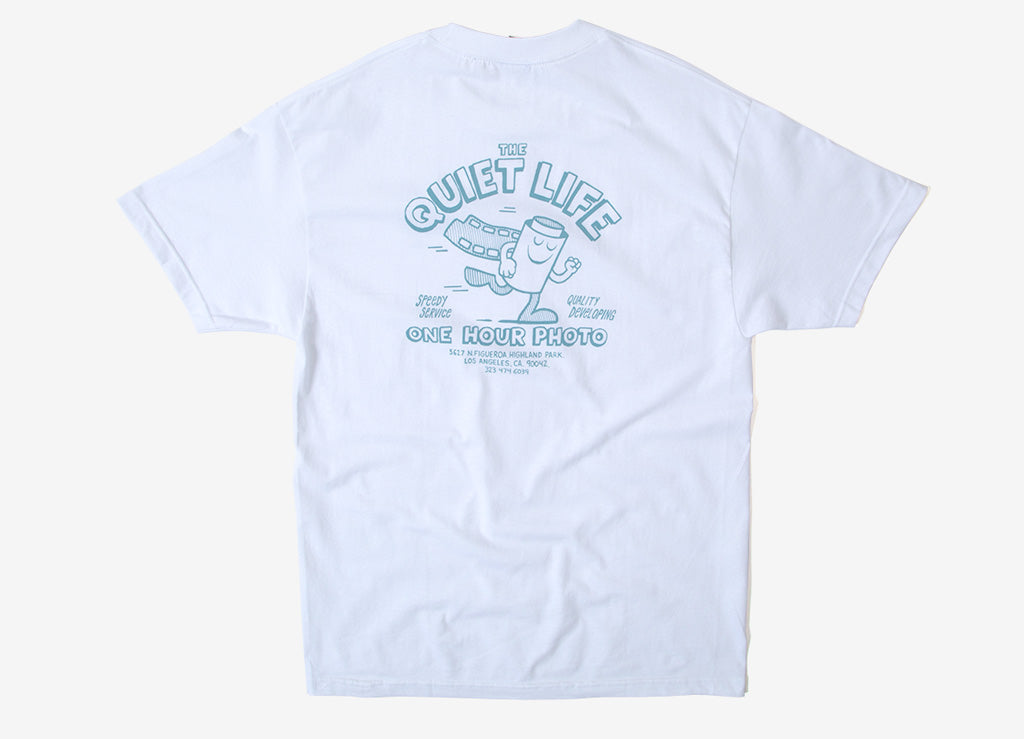 The Quiet Life One Hour Photo T Shirt - White
