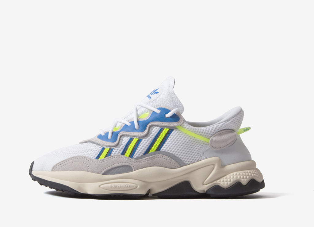 4e8a012c adidas Originals Ozweego White/Solar Yellow | adidas Originals Footwear |  The Chimp Store